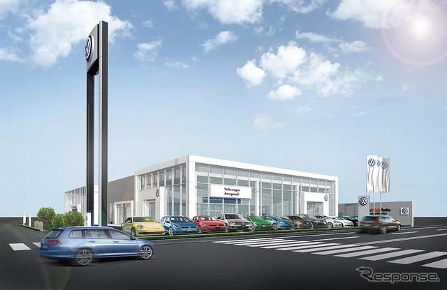 Volkswagen Amagasaki (stores images)