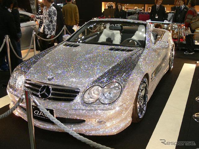 [Tokyo special import-car show-06] 300000 more Swarovski embellished