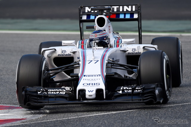 Valtteri bottas recorded fastest on final day (Williams)