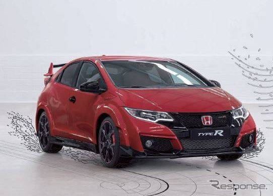 Honda released in Poland's official Facebook page with new civic type R model