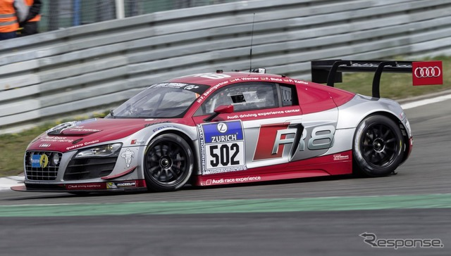 Current models of the Audi R8 LMS (refer picture)