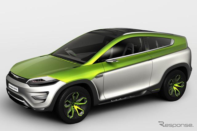 Magna's concept car, MILA Coupic