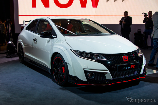 New Honda Civic type R model (Geneva Motor Show 15)