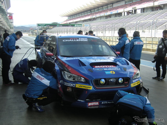 Subaru /STI aiming for 3 years Buri class championship battle has finally entered the combat mode from the development