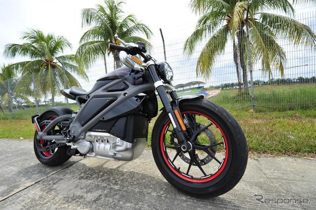 صدر Davidson هارلي الدراجات الكهربائية في ماليزيا