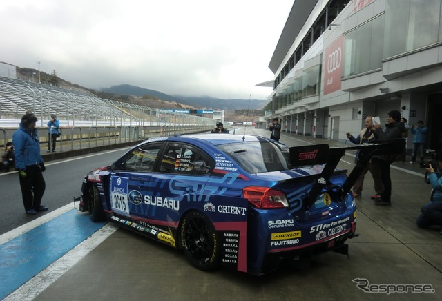 15 years of SUBARU WRX STI 4 days, carried out circuit's first driving in Fuji Nürburgring 24-hour race 3 tank
