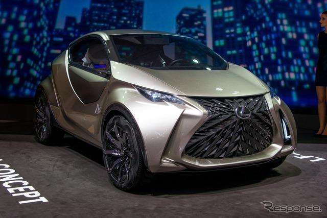 Lexus LF-SA Concept (2015 Geneva International Motor Show)