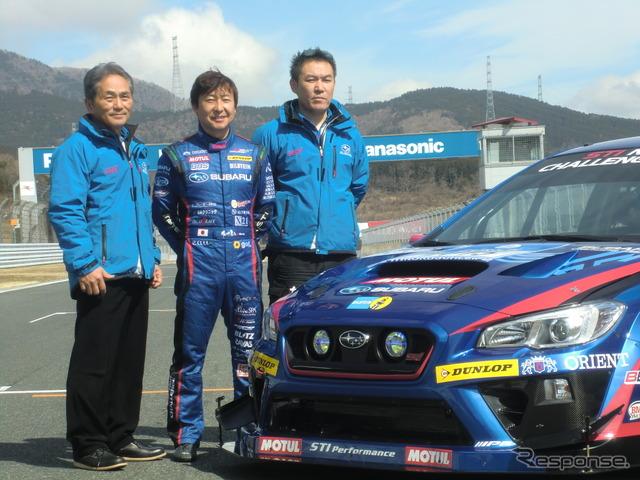 Tatsumi STI Director, Kota Sasaki, Ozawa STI Director from left