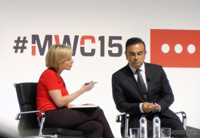 [MWC 2015] keynote: Carlos Ghosn