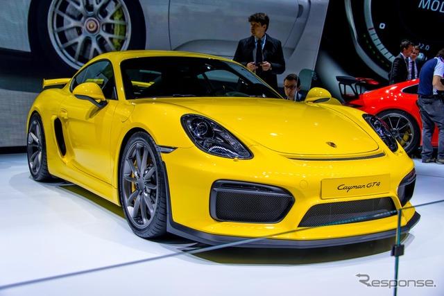 Porsche Cayman GT4 (Geneva Motor Show 15)