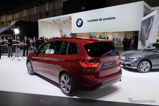 BMW 2 seri grand tourer (Geneva Motor Show 15)
