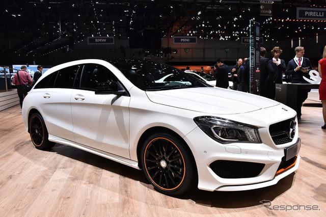 Mercedes-Benz CLA shooting break (Geneva Motor Show 15)