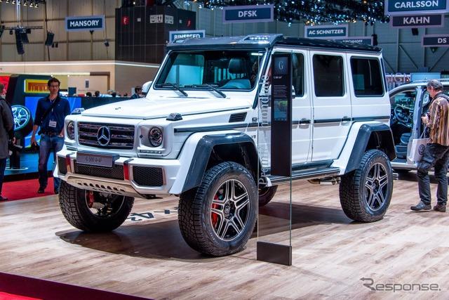 Mercedes-Benz G500 4 × 4 squad