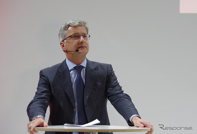 Rupert Audi CEO シュタートラー (9 days)