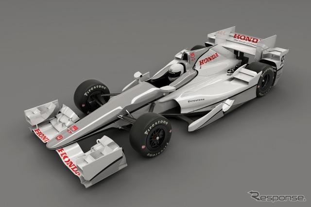 Honda releases 2015 aero kit for IndyCar