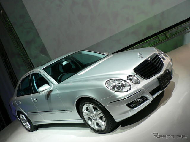 Mercedes-Benz E class old model (reference image)