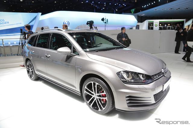 New Volkswagen Golf GTD valiant (Geneva Motor Show 15)