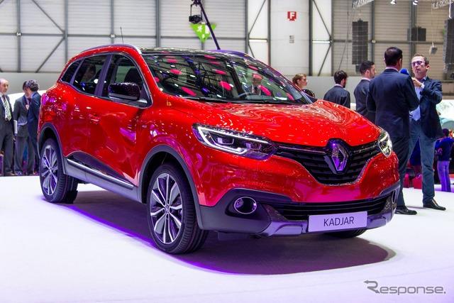 Renault kajal (Geneva Motor Show 15)