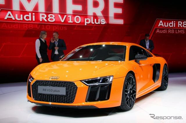 Audi R8 V10 plus (Geneva Motor Show 15)