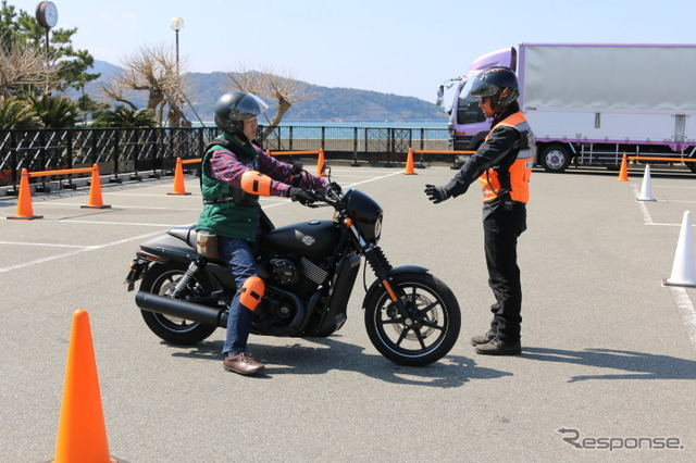 Chance ride Street 750... 2 days you can feel the Harley world 4/4-5.