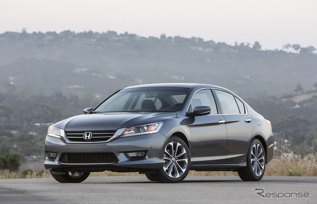 North American version of the Honda Accord