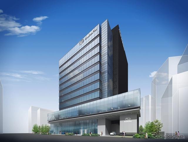 Fuji heavy industries ' new office building ebissbrubil