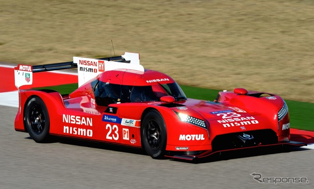 Nissan GT-R LM Nismo will not participate in the two opening races of WEC