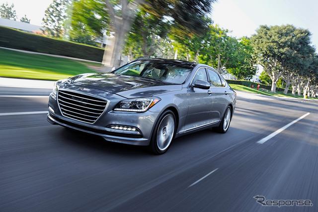 New Hyundai Genesis sedan