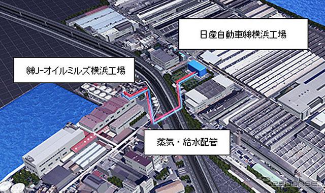 Location map (Daikoku-Cho, Tsurumi-Ku, Yokohama City)