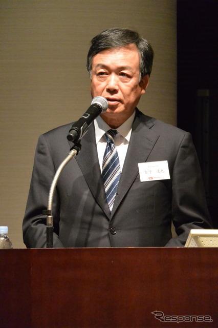 Daihatsu's Vice President, Tatsuya Kaneko (reference image)