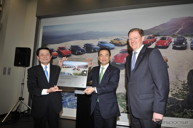 Porsche Centre Aoyama, classic partner Japan for first time