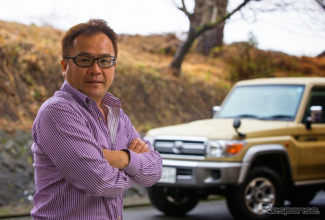 Toyota Landcruiser 70 and Mr. Nishikawa Atsushi
