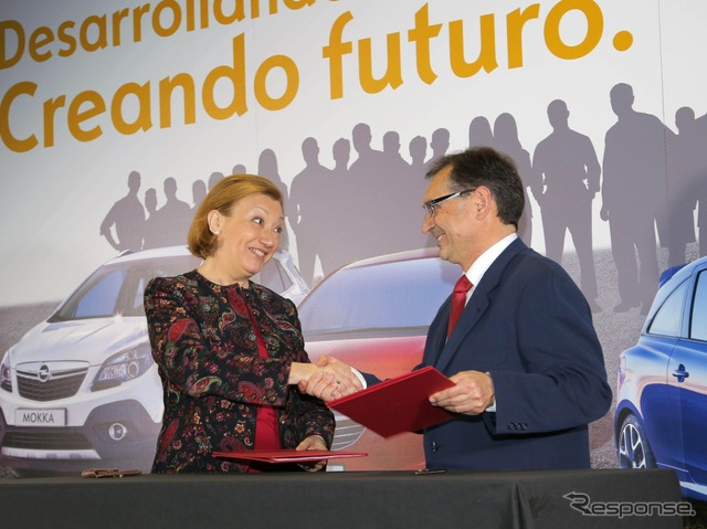 Opel announced that employs over 1400 people in Spain