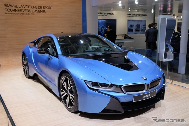 Small model of the BMW i8 (Geneva Motor Show 15)