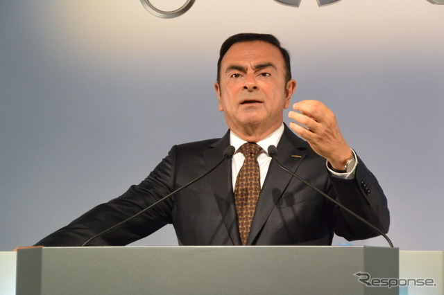 Nissan Motor Carlos, Ghosn, President & CEO (reference image)