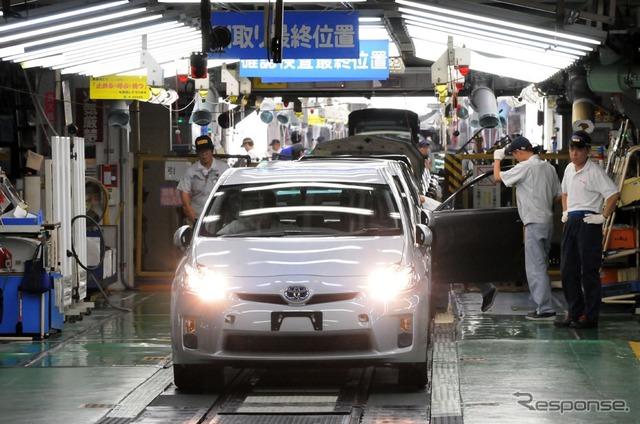 Toyota's Tsutsumi plant (source image)