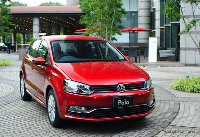 New VW Polo model (reference image)