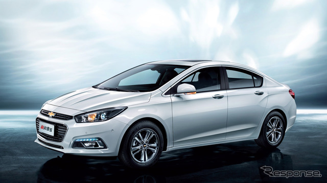 Upcoming Chevrolet Cruze (Chinese version).