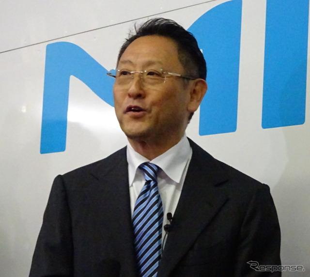 Toyota Motor Corp. President Akio Toyoda (reference image)