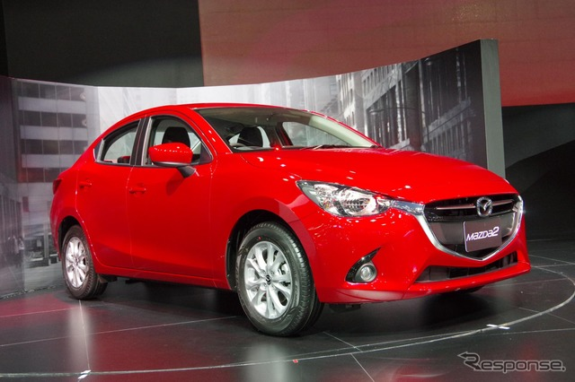 Mazda2 Sedan (2015 Bangkok Motor Show)
