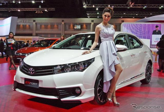Toyota Corolla Altis ESport Nurburgring Edition (Bangkok motor show 15)