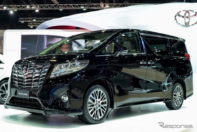 Thai version of the all-new Toyota Alphard (2015 Bangkok International Motor Show)