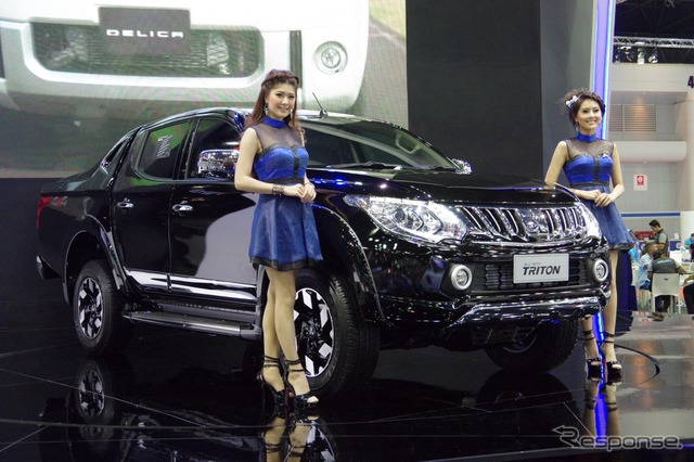 The all-new Mitsubishi Triton (2015 Bangkok Motor Show)