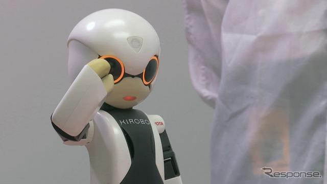 Robot space astronaut KIROBO (severnyy)