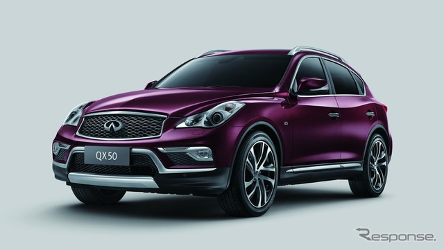 New improvements for the QX50 Infiniti (Nissan Skyline crossover) (Chinese specification