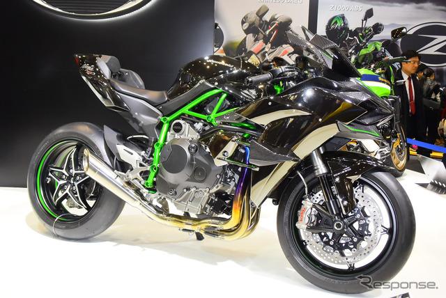 Kawasaki Ninja H2R (2015 Tokyo Motorcycle Show)