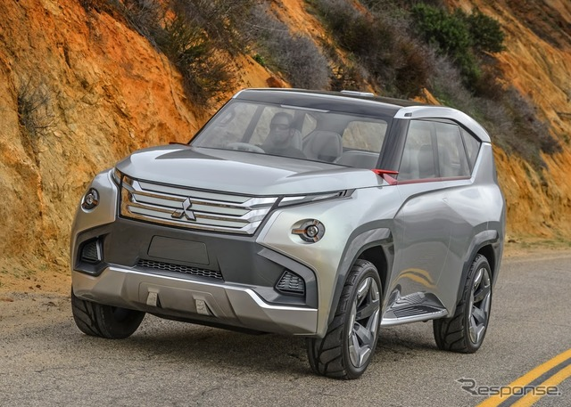 Mitsubishi concept GC-PHEV (images)