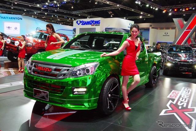 นิทรรศการรถกระบะอีซูซุและการขาย (กรุงเทพมอเตอร์โชว์ 15)