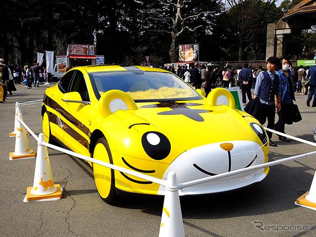 Of fringe Jiro car 2 based on the MODEL S Tesla Motors Japan