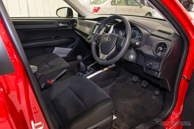 New Toyota Corolla fielder